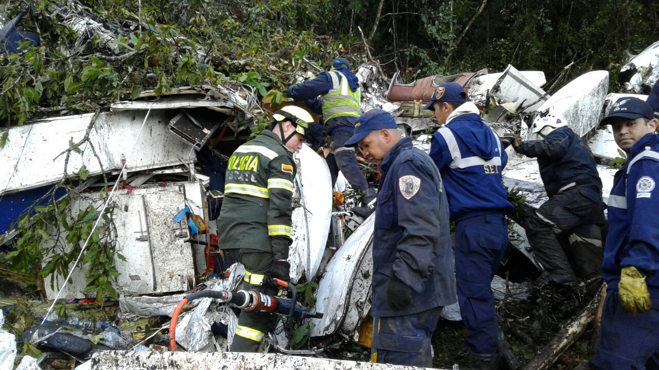 Son 71 los muertos en el accidente de Chapecoense