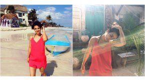 Agustina Cherri, sexy en las playas de Mexico