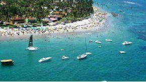 Dos turistas argentinos se ahogaron en una playa de Brasil