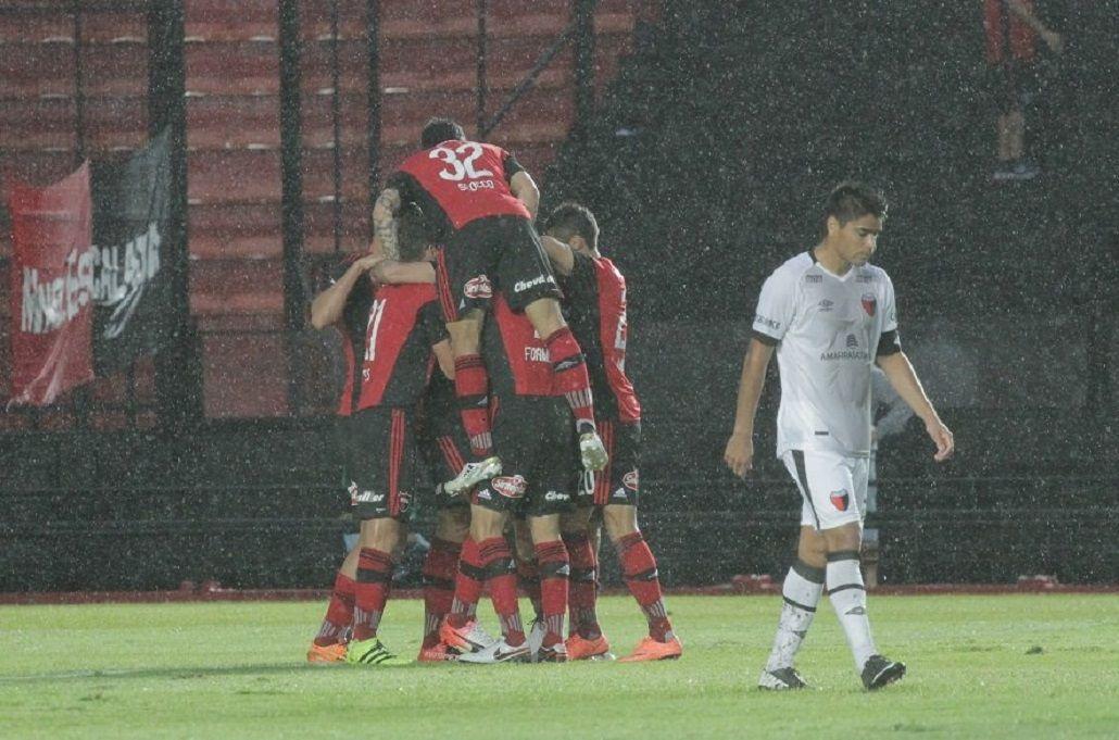 El festejo de Newell´s tras el gol agónico de Maxi Rodríguez