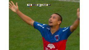 Chino Luna, la figura de Tigre ante Quilmes