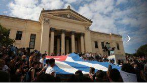 Los cubanos lloran la muerte de Fidel Castro