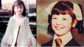 Las fotos de la actriz en su niñez