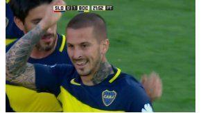 Benedetto hizo un golazo pero no pudo seguir en cancha