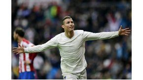 Cristiano Ronaldo sumó un nuevo doblete a su carrera