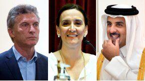 La Justicia recibió una denuncia contra Macri, Michetti y el emir de Qatar.
