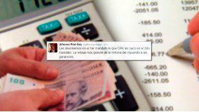 El ministro de Hacienda defendió el proyecto oficial sobre Ganancias
