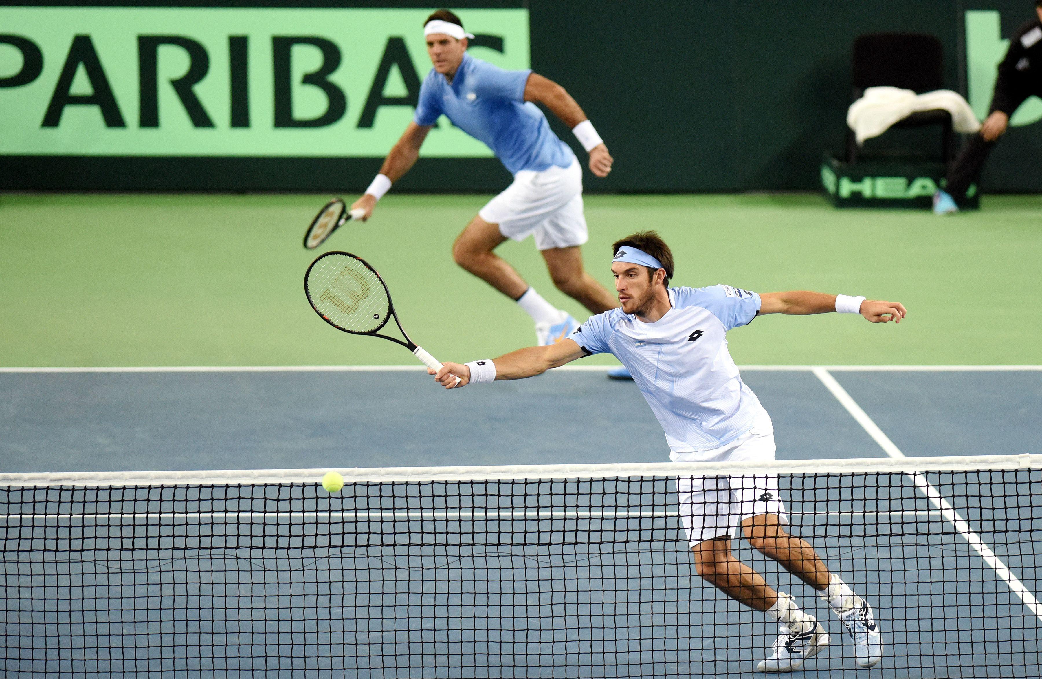 Copa Davis: Argentina perdió el dobles ante Croacia y quedó 2-1 abajo en la final