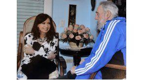 El encuentro de Cristina con Fidel Castro de 2014