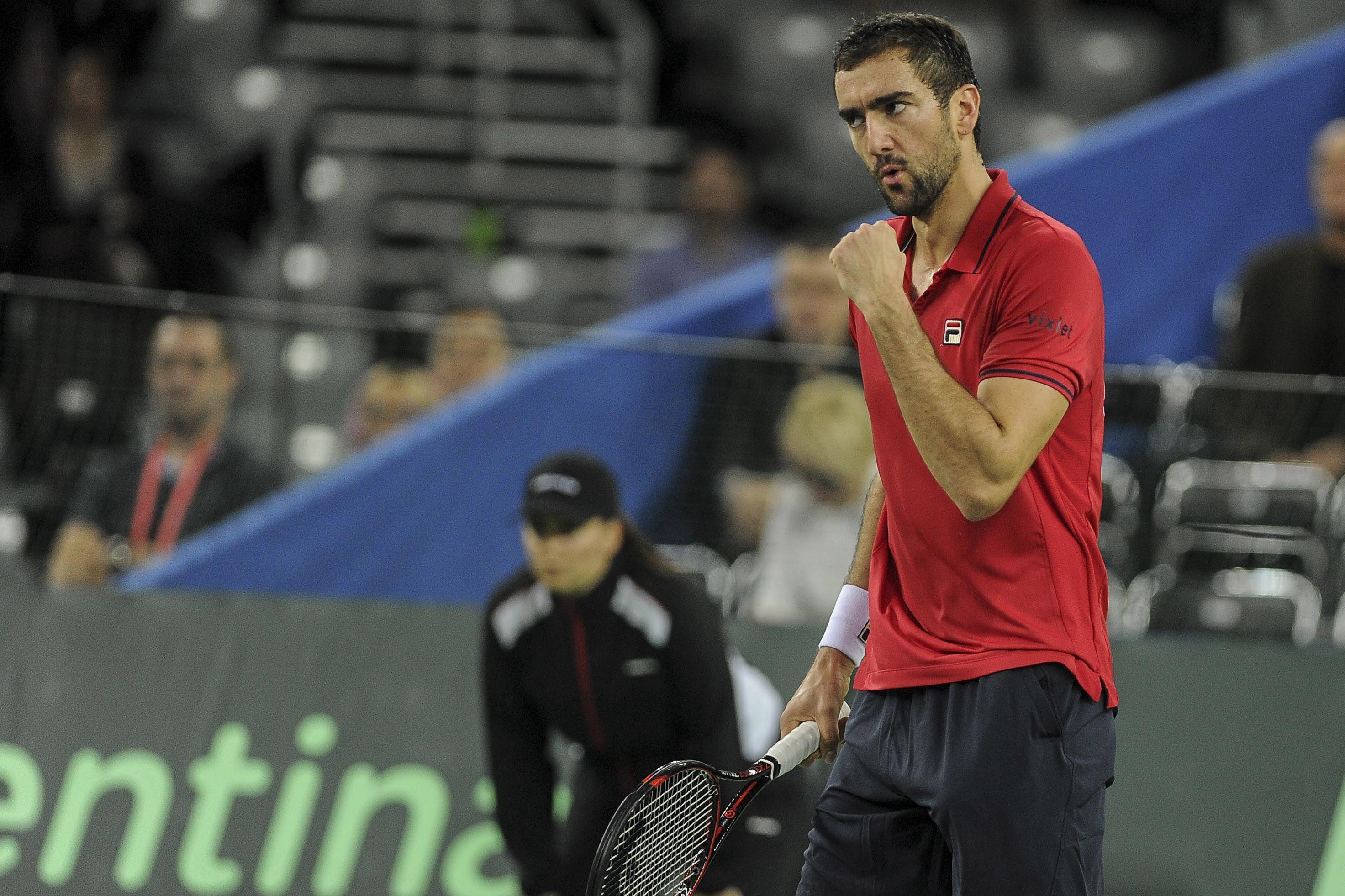 Copa Davis: Delbonis luchó pero perdió el primer punto ante Cilic