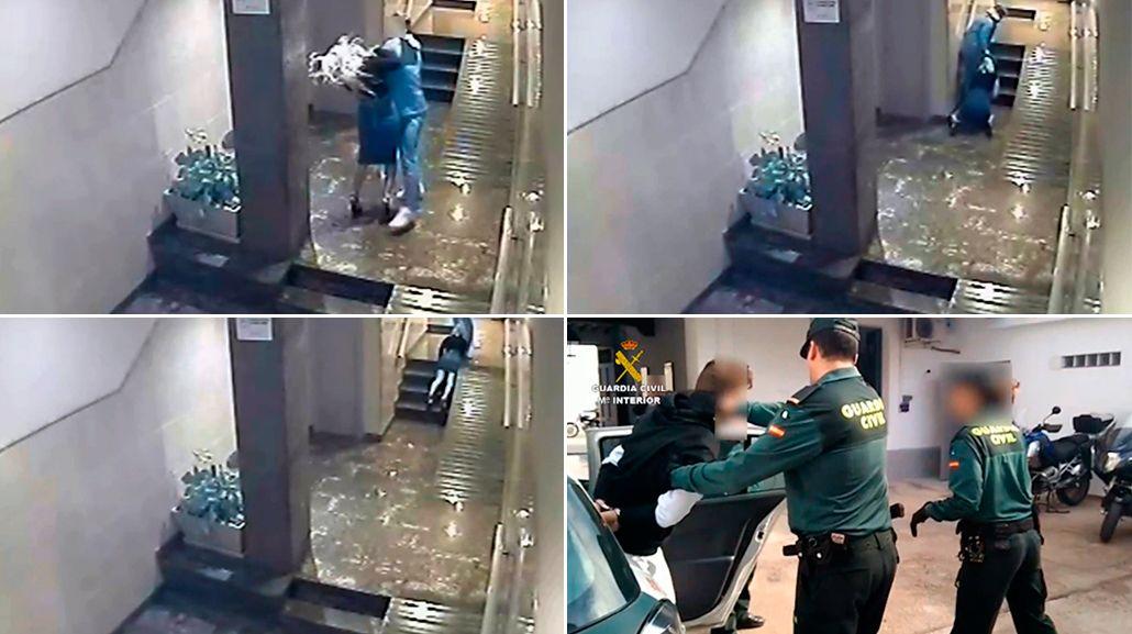 Un hombre le dio una brutal paliza a su pareja en España.