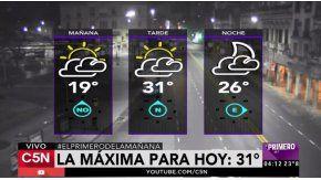 Pronóstico del tiempo del viernes 25 de noviembre de 2016