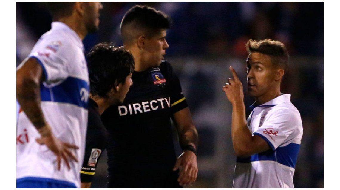Diego Buonanotte fue insultado por un rival en Chile.