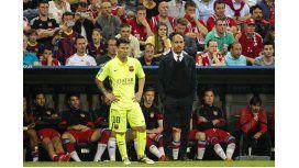 Guardiola dijo que Messi seguirá en Barcelona