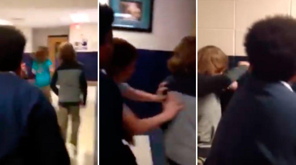 Un nene fue víctima de bullying en Estados Unidos.