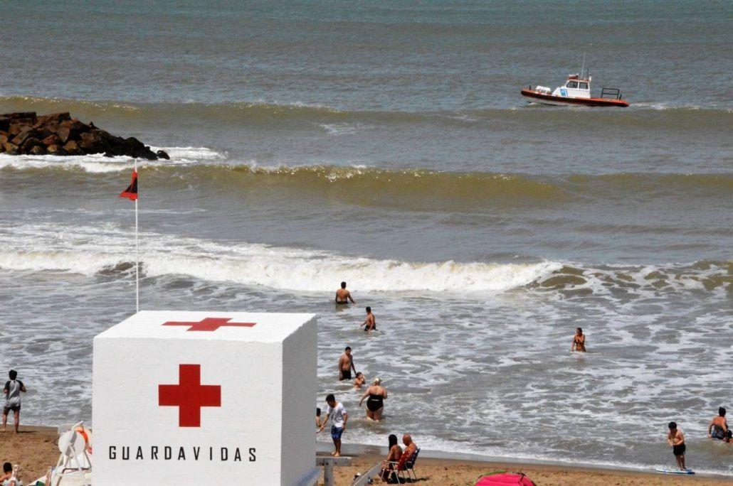 Un hombre se metió al mar en Mar del Plata y desapareció.