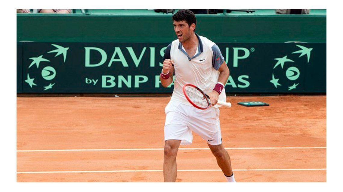Copa Davis: el posible rival de Del Potro del viernes quedó afuera de la final