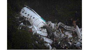 El avión de Chapecoense se estrelló en Colombia.