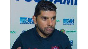 Néstor Ortigoza haba tras el partido ante Chapecoense