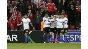 El Inter volvió a perder por Europa League