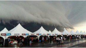 El autódromo de Entre Ríos, bajo un temporal