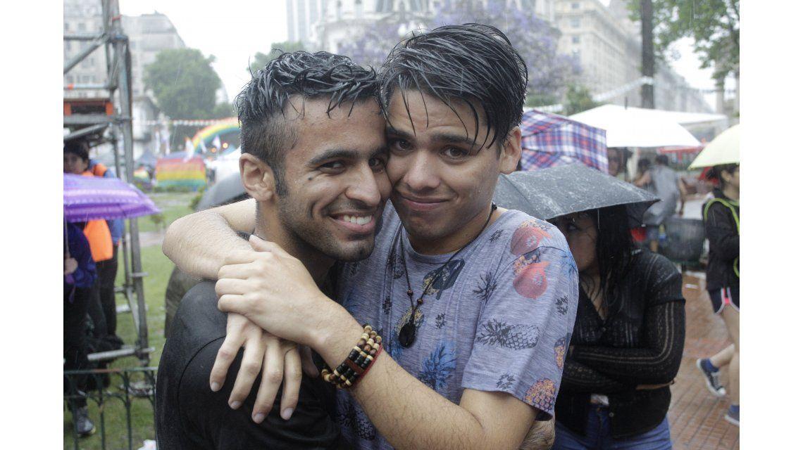 Así se celebra la marcha del orgullo gay en Buenos Aires