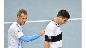 Delbonis perdió contra Cilic
