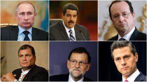 Líderes despiden a Fidel Castro