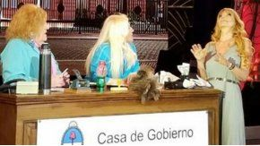 Graciela Alfano, hot en lo de Susana.