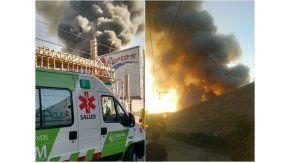Incendio depósito de autos, Quilmes