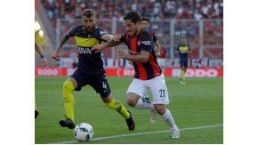 San Lorenzo y Boca juegan en el Nuevo Gasómetro