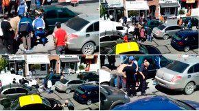 Una policía sufrió heridas leves, tras ser arrastrada por 100 metros en el capot de un auto en Mar del Plata.
