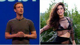 Victoria Vannucci intimó a Facebook.