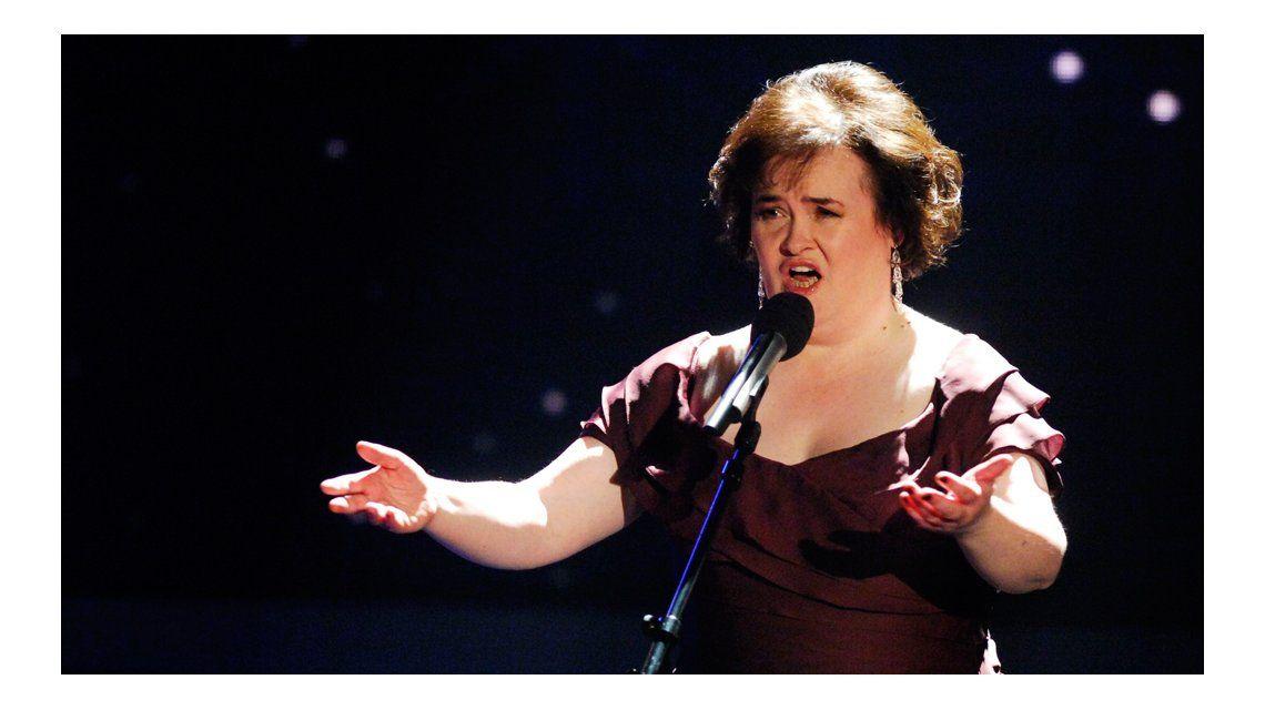 El duro momento de Susan Boyle.