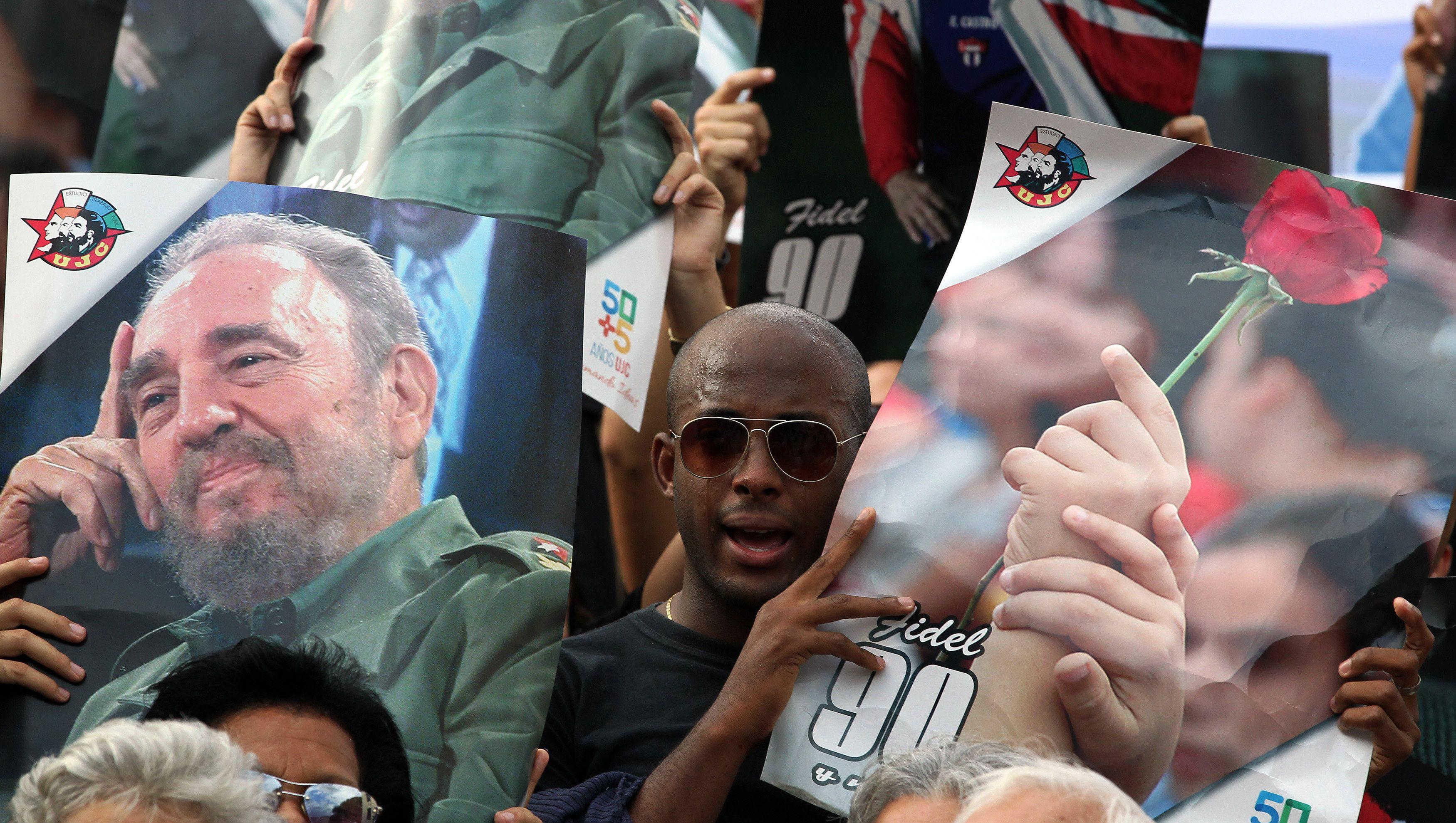 Prohíben el uso de la imagen de Fidel Castro