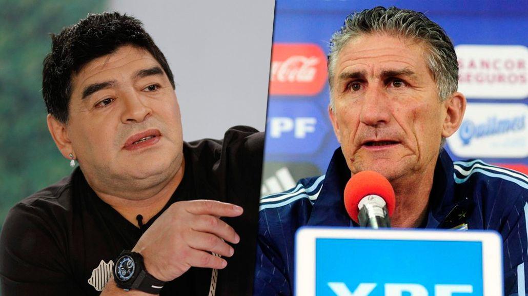 Diego Maradona sostuvo que la Selección clasificará al Mundial.