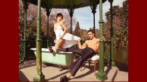 Gimena Accardi y Nico Vázquez, juntos en una divertida producción.