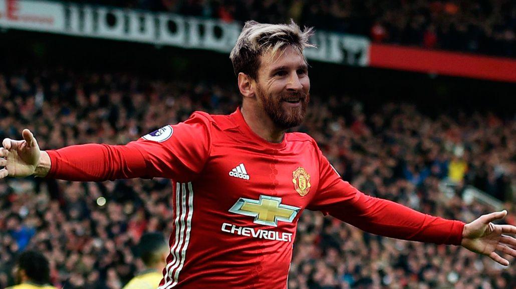 Desde el United buscan que Messi no renueve con el Barcelona