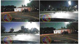 Un meteoro asustó a la población dede North Port, Florida