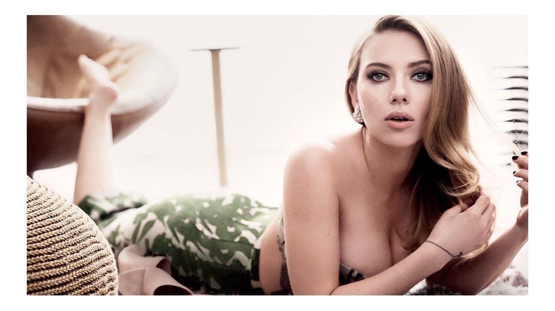 Scarlett Johansson habló de la publicación de sus fotos hot