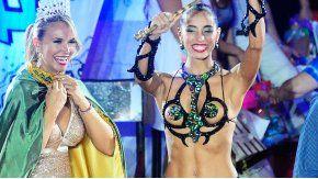 Agustina Díaz fue elegida en febrero como reina del Carnaval de Gualeguaychú.