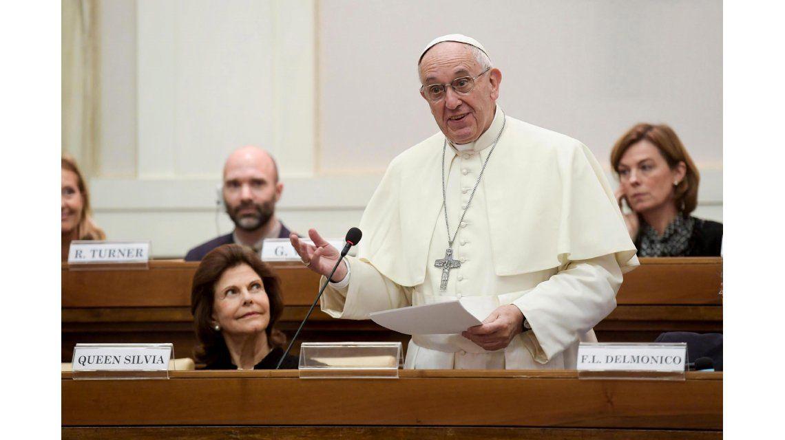 El papa Francisco habló en un foro sobre narcóticos