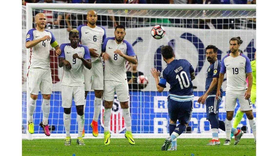 La pegada de Lionel Messi
