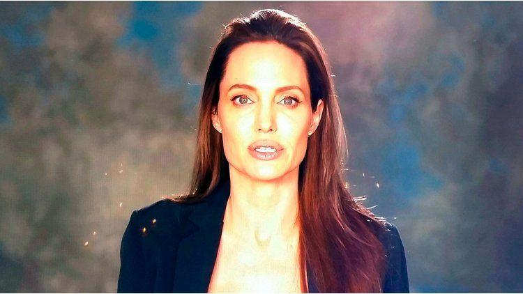 Reapareció Angelina Jolie.