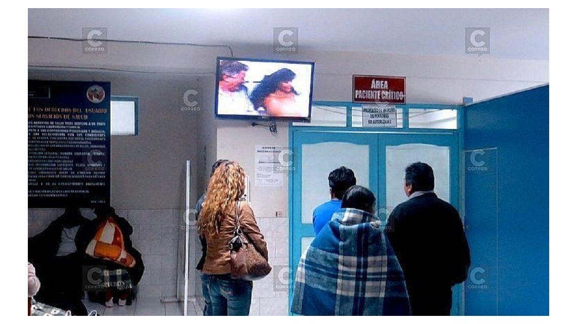 Pusieron una pel cula porno en la sala de emergencias de for Videos porno sexo en la piscina