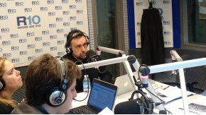 Roberto Navarro en las mañanas de Radio 10.