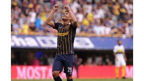 El colombiano se fue expulsado y siguió con gestos de cara a La 12