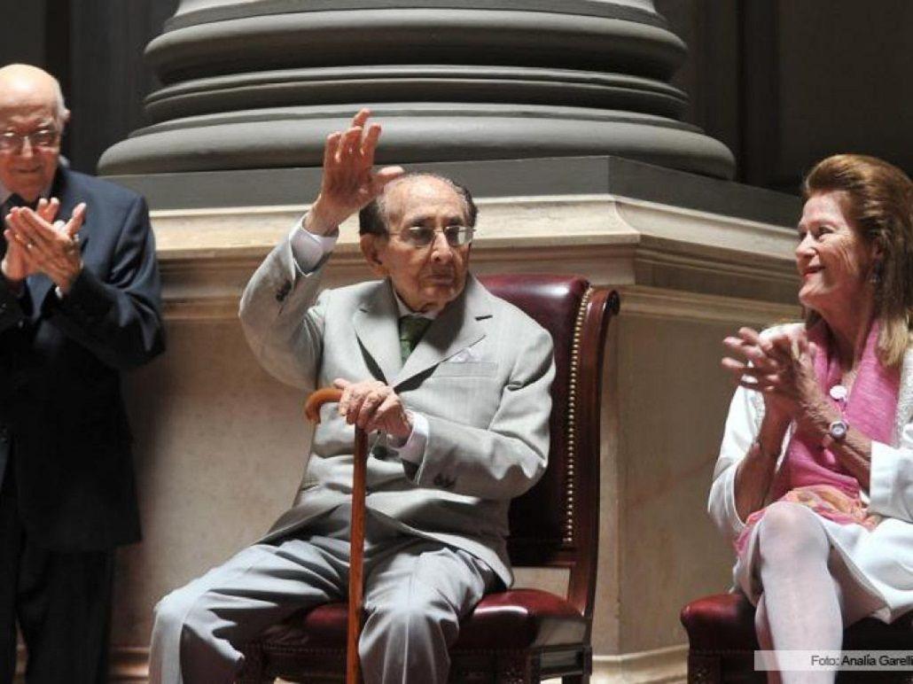 Carlos Fayt en su despedida de la Corte Suprema de Justicia