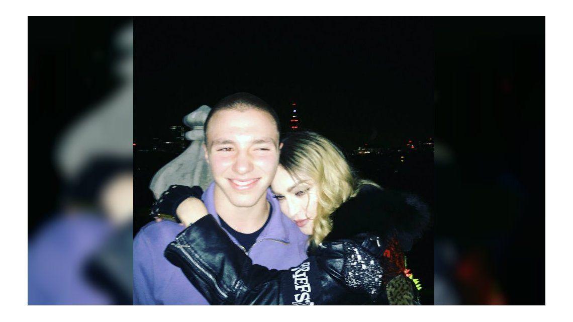 Madonna y su hijo mayor