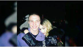 Madonna y su hijo mayor, Rocco